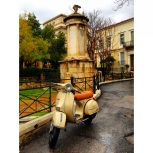 Loved this Vespa so I had to take a photograph...