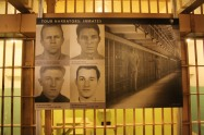 Some of the narrators we heard as we toured Alcatraz