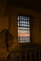 I believe this is the only view the prisoners had of the outside world from their cell