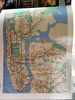 This map with the subway lines really helped us get around.