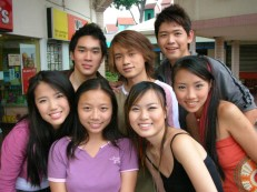 2006: Yeap, I was thin when Romeo Tan was still playing a 'pai kia' in C.I.D. 刑警2人组