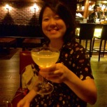 Ms Shupwsy with her Gimlet.